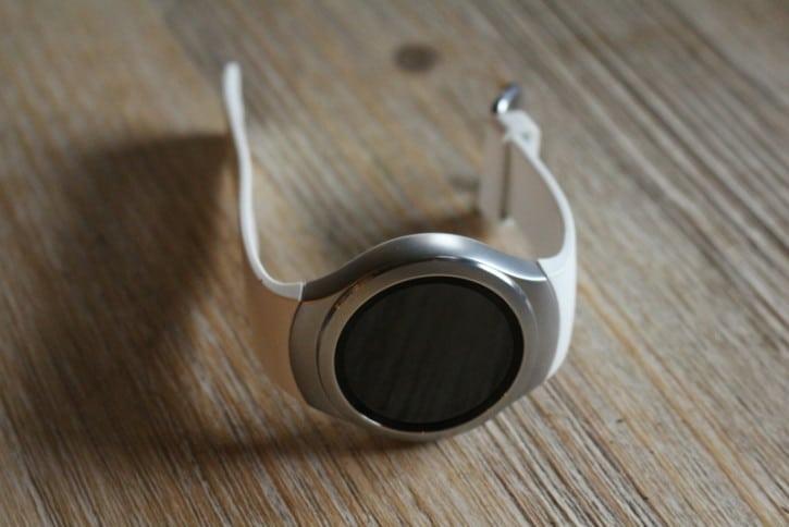 Vue du dessus de la Samsung Gear S2