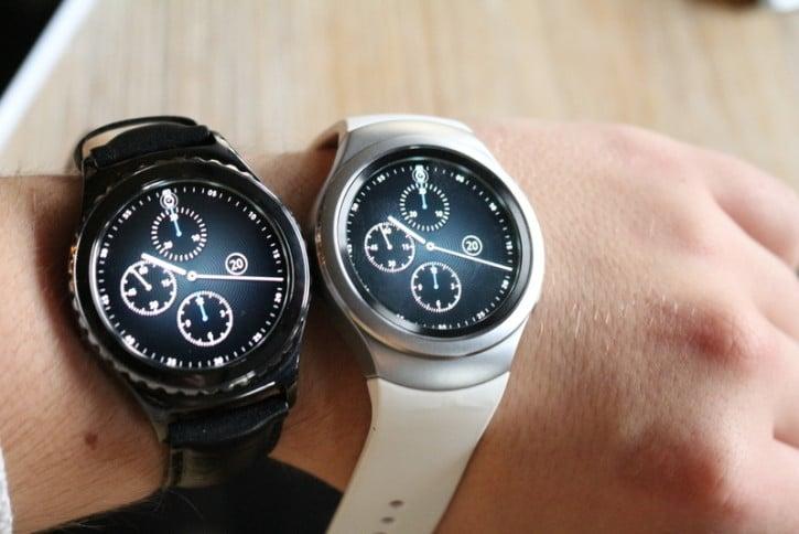 La montre Samsung Gear S2 au poignet