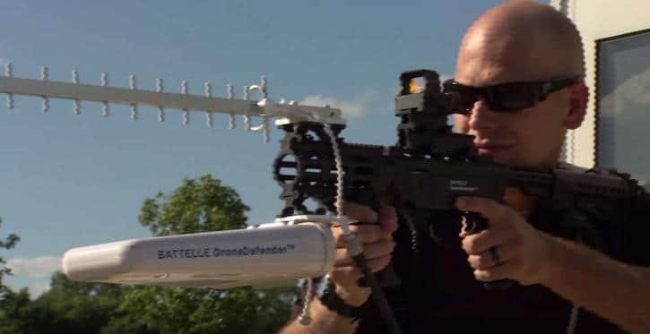 DroneDefenser
