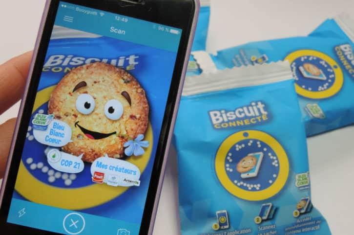 Biscuit connecté