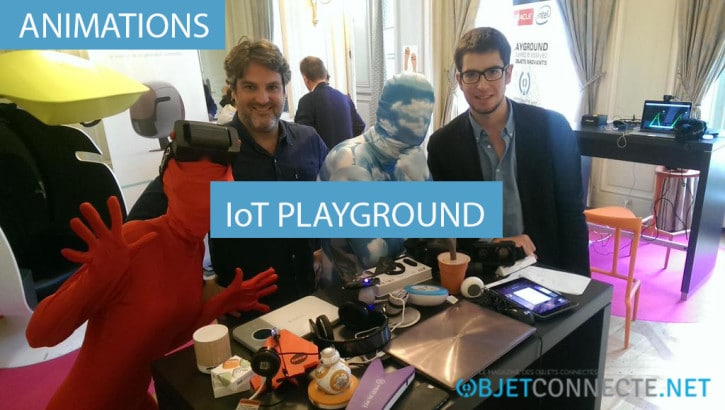 animation objets connectés - iot playground