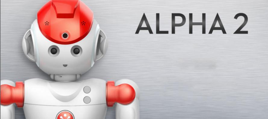 Alpha 2 le robot humanoïde révolutionnaire.