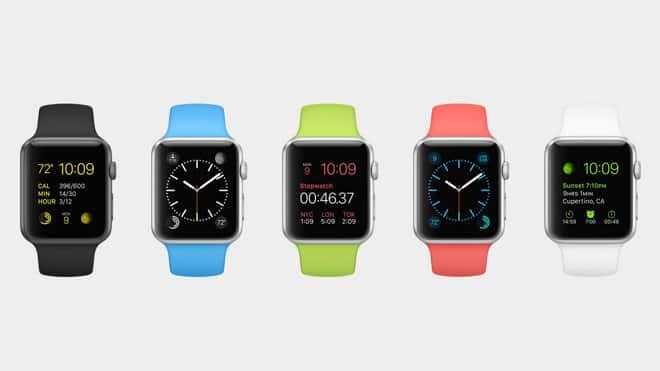 Montre connectée iPhone Apple Watch
