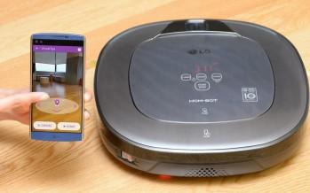 Réalité augmentée et télésurveillance avec l'aspirateur LG Hom-Bot Turbo+