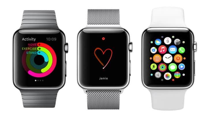 Montre conenctée iPhone Apple Watch