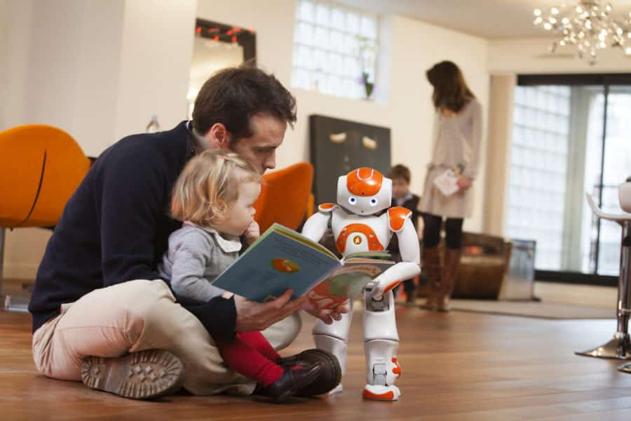 objets connectes robot nao