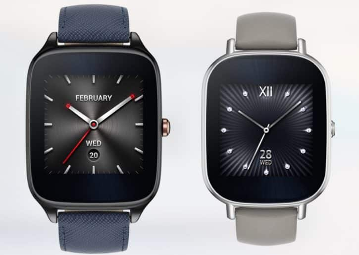 Montre conenctée iPhone Asus Zenwatch