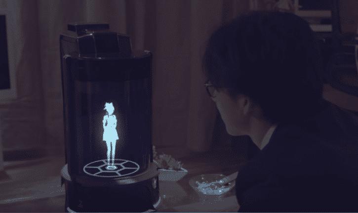 hologramme Gatebox