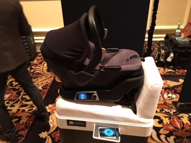 4moms siège bébé connecté CES 2016