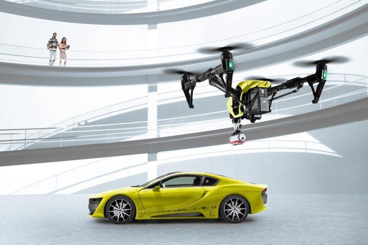 CES 2016 voiture connectée rinspeed etos