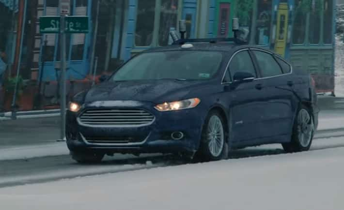 Ford autonome neige