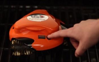 Grillbot, le robot nettoyeur pour votre barbecue