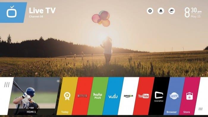 ces 2016 une version webos 3 0 pour les smart tv lg. Black Bedroom Furniture Sets. Home Design Ideas