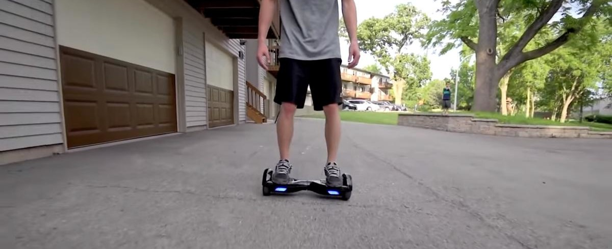 Hoverboard incendiaire