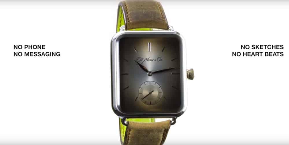 alp watch pied de nez apple watch