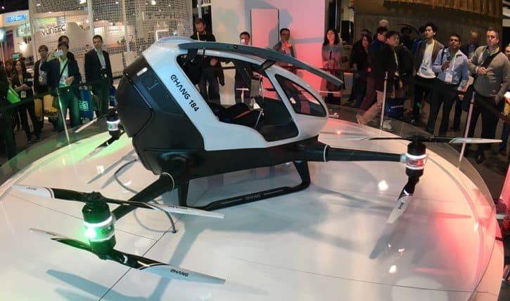 ces 2016 drone transport