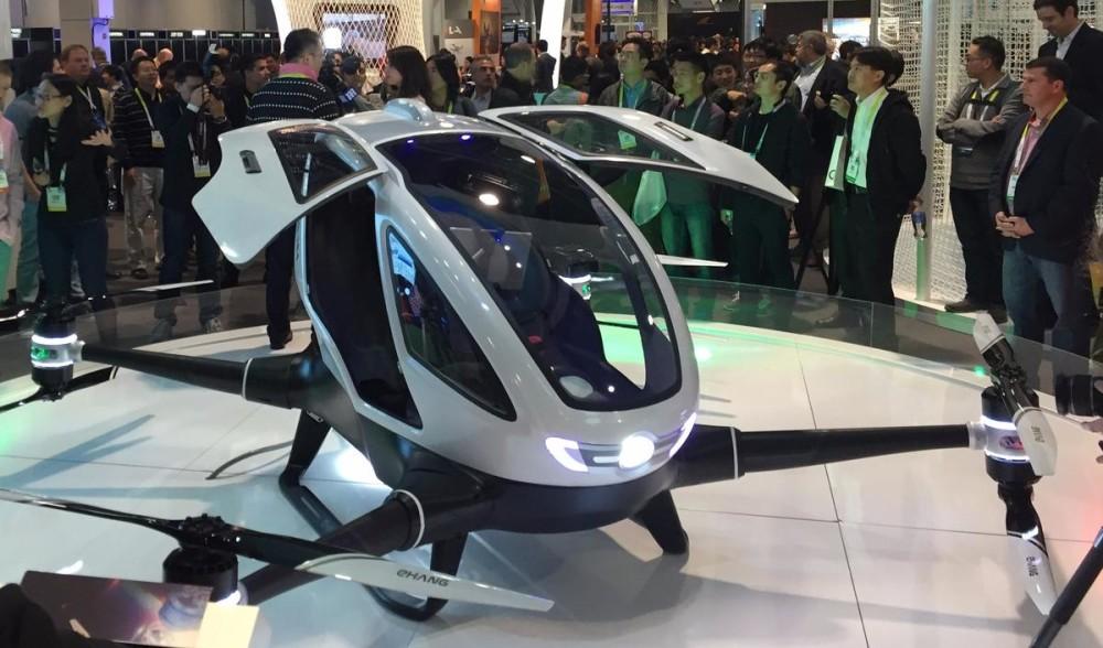 drone de transport autonome ces