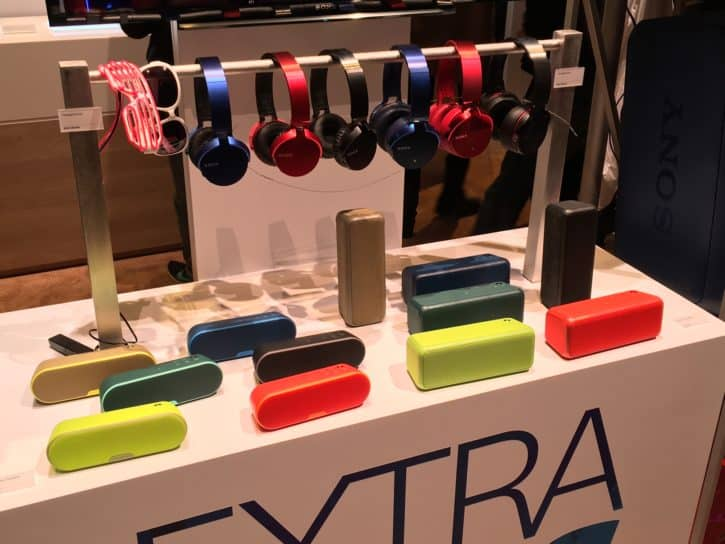 Stands Sony CES 2016