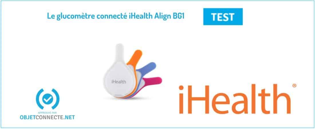 glucomètre connecté iHealth Align BG1