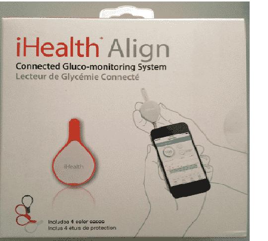 boite glucomètre connecté iHealth Align BG1