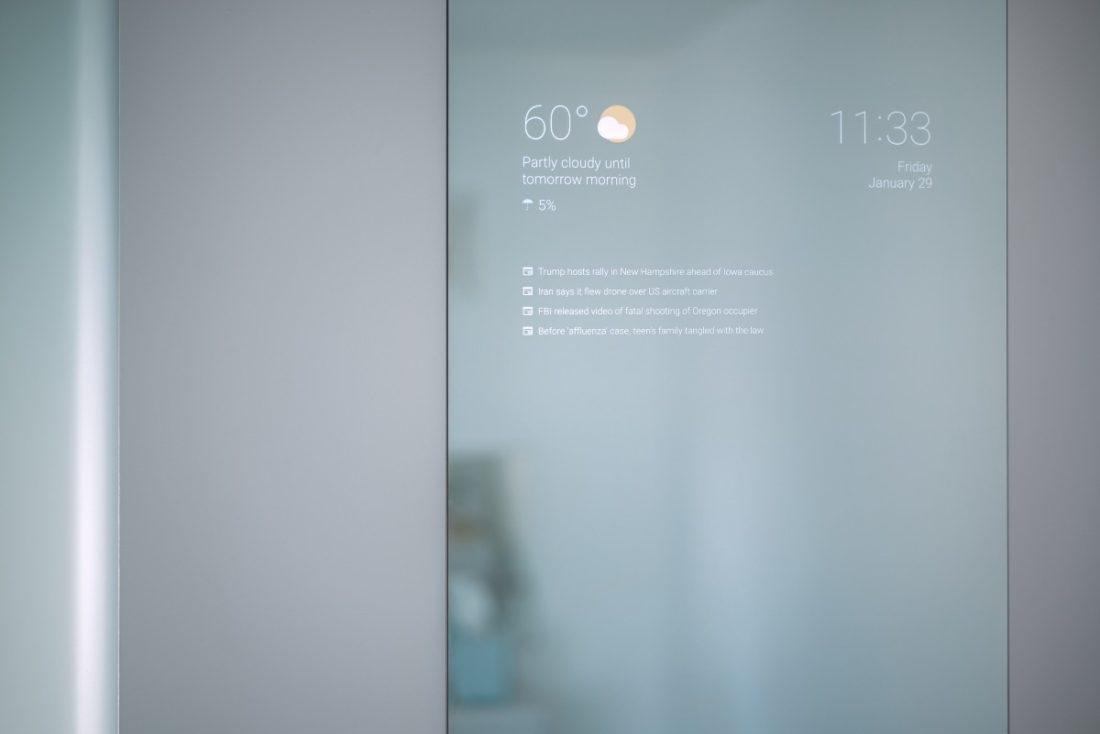 miroir connecté Google im2