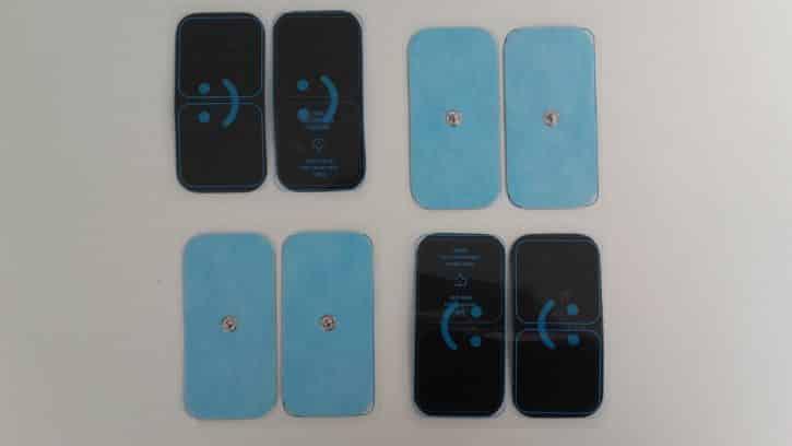 bluetens électrodes grande taille