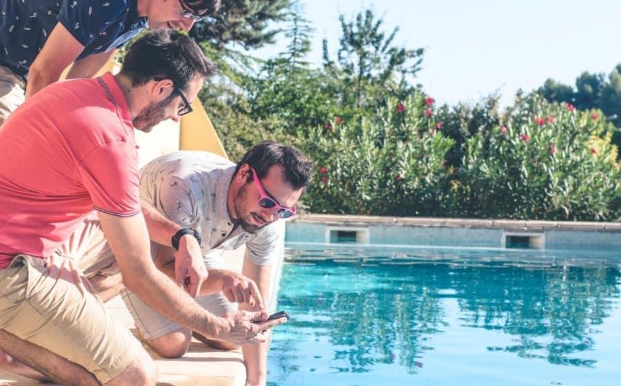 Entretien piscine connecté Flipr im1