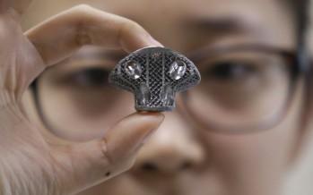 Impression de vertèbres 3D pour soigner le cancer