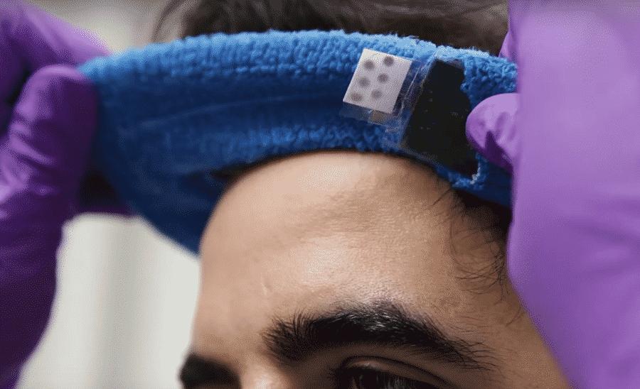 Capteur santé connecté Sweat Sensor