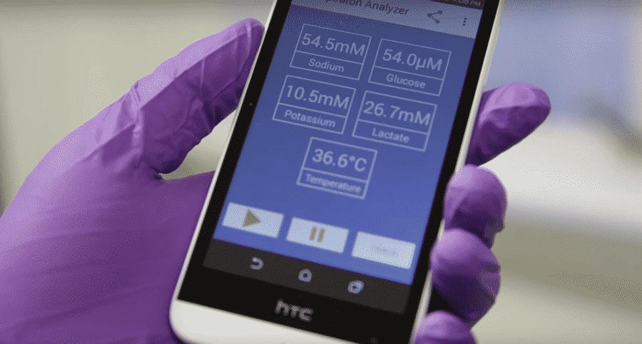 Capteur santé connecté Sweat Sensor im2