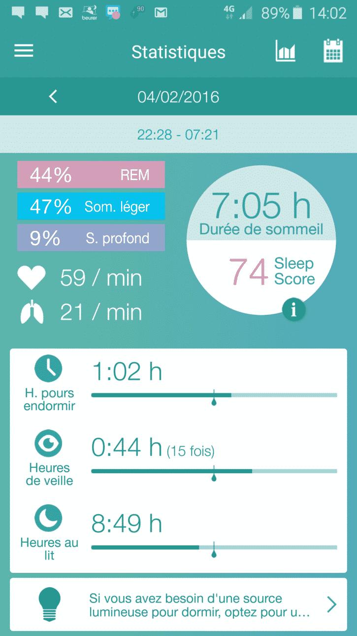 Capteur de sommeil Sleep Expert Sensor im1