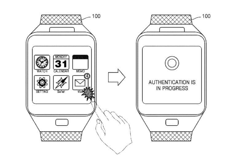 Smartwatch veine