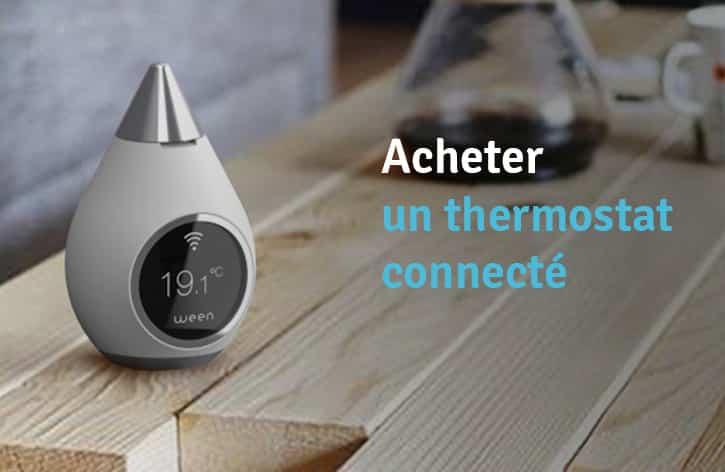 acheter-thermostat-connectee