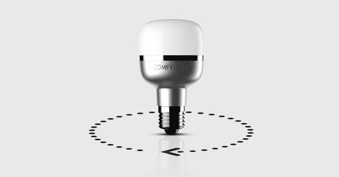 comfylight la petite ampoule qui loigne les intrus. Black Bedroom Furniture Sets. Home Design Ideas