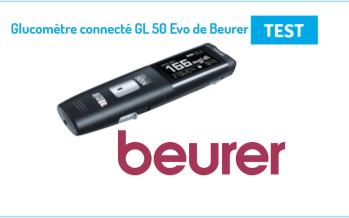 TEST GL 50 Evo : Le Glucomètre de Beurer accompagne les diabétiques