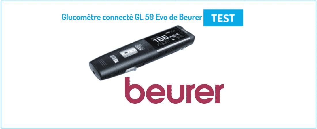 glucomètre connecté GL 50 Evo