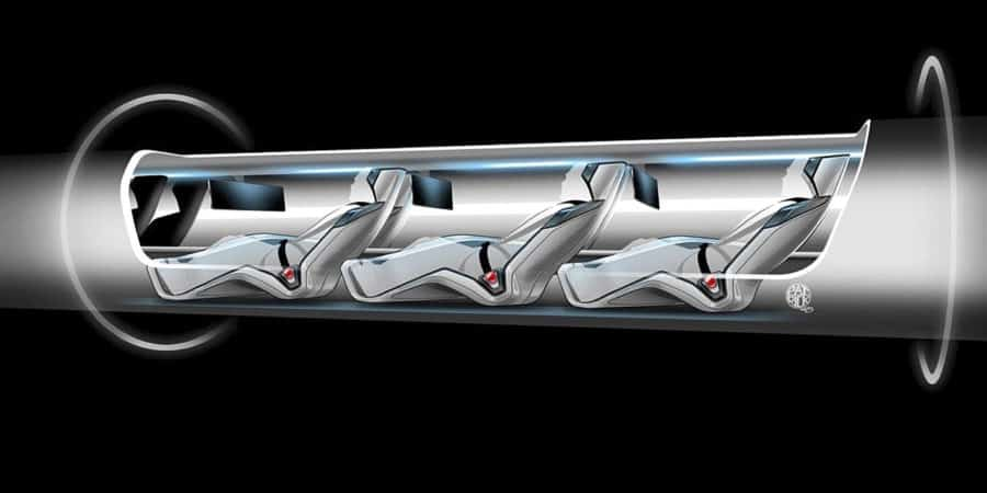 Train Hyperloop im3