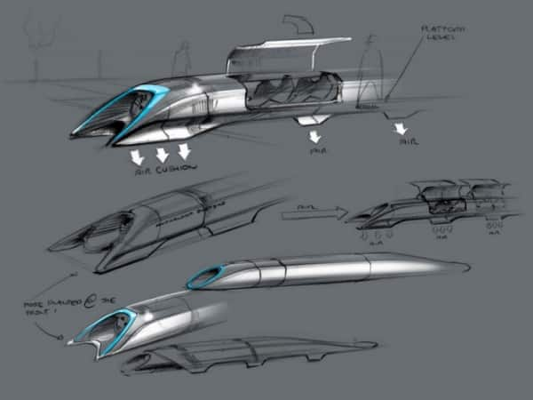 Train Hyperloop im7