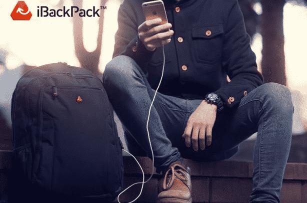 iback pack, le sac connecté