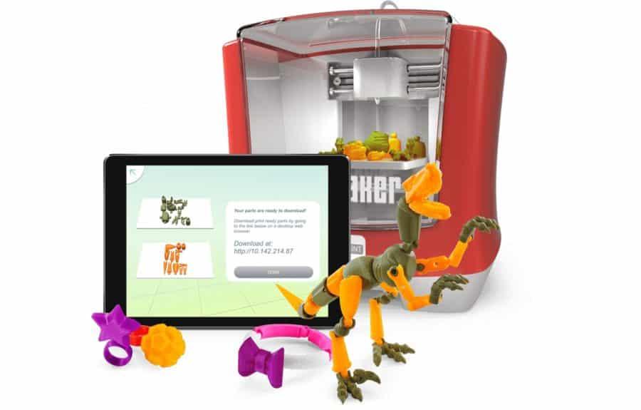 jouet connecte imprimante 3D Mattel