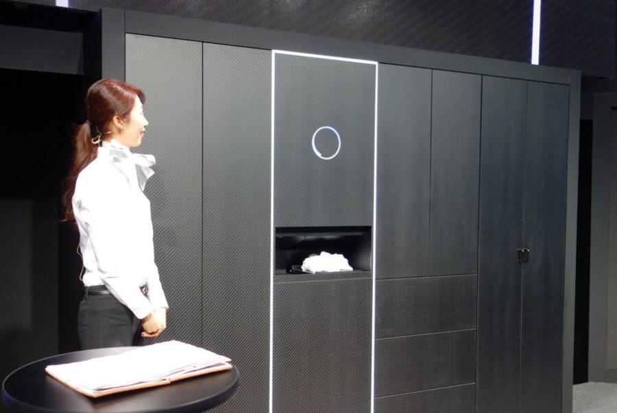 laundroid robot plieur de v tement et sauveur de mariages. Black Bedroom Furniture Sets. Home Design Ideas