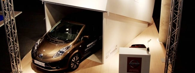 leaf électrique voiture intelligente