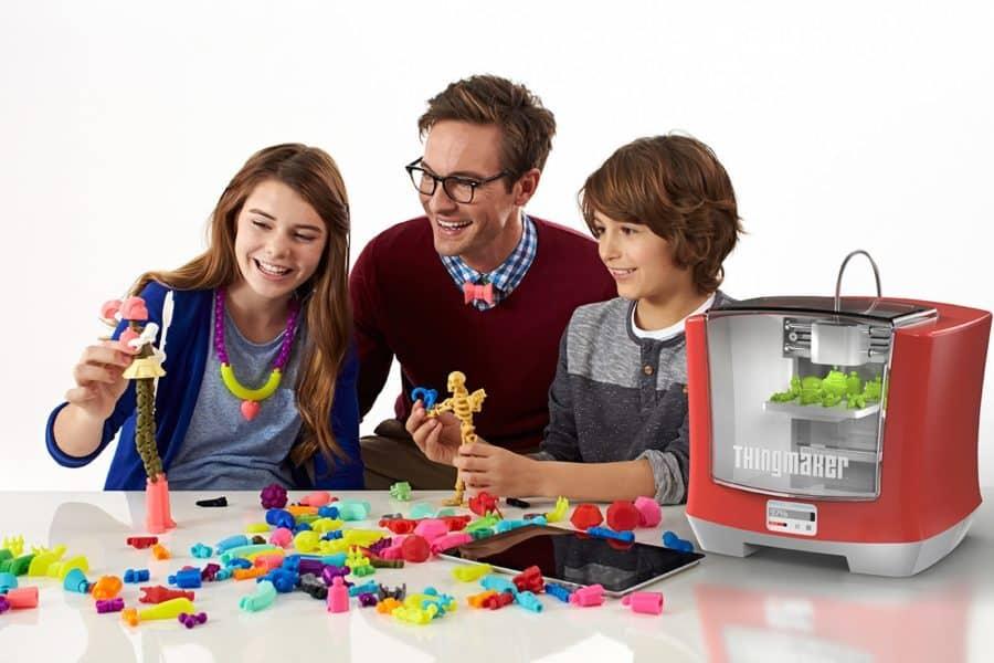 jouets connectes imprimante 3D Mattel