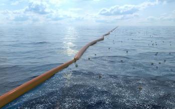 Ocean Clean-up va passer son épreuve du feu en Mer du Nord