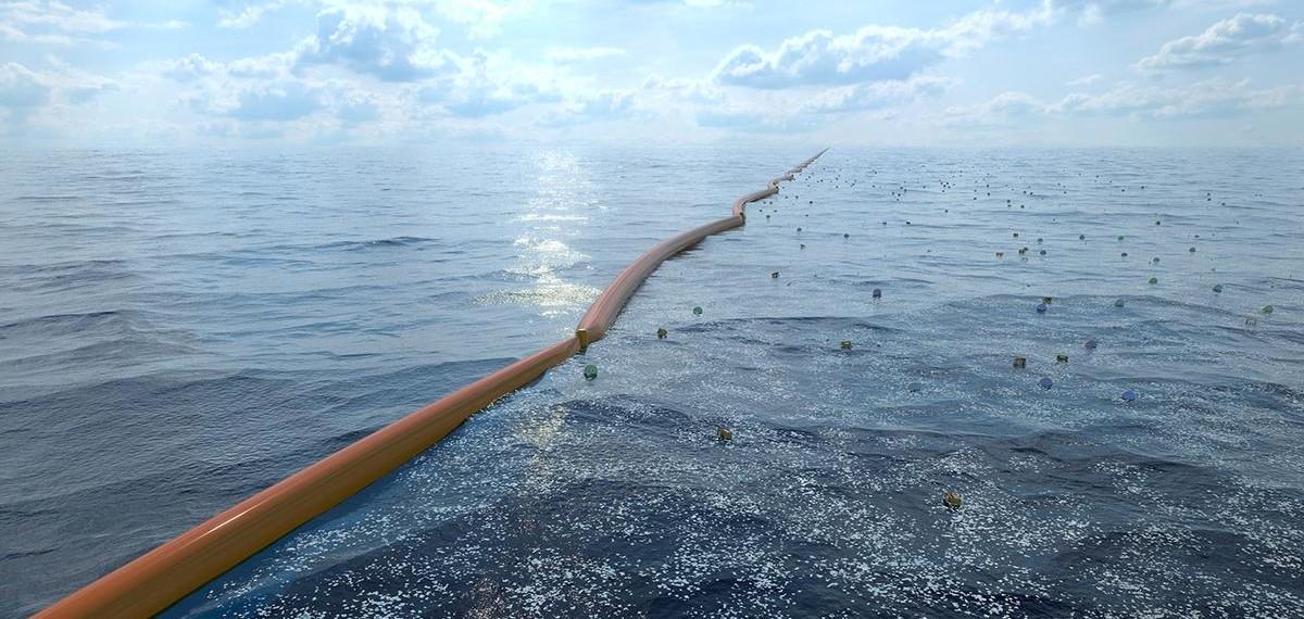 Nettoyeur d'océans Ocean Clean-up im couv