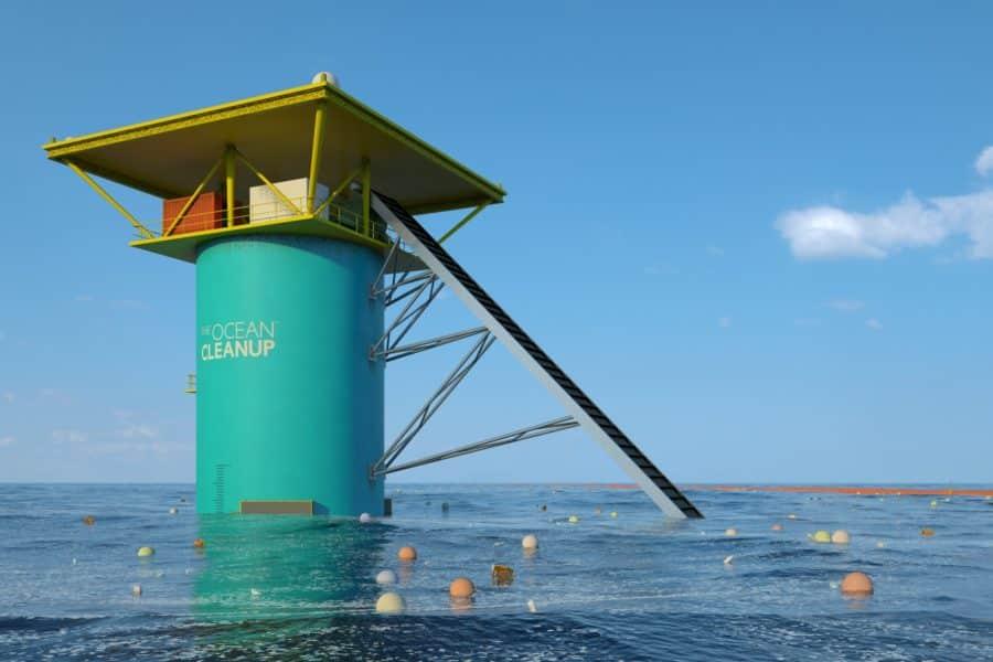 Nettoyeur d'océans Ocean Clean-up im2