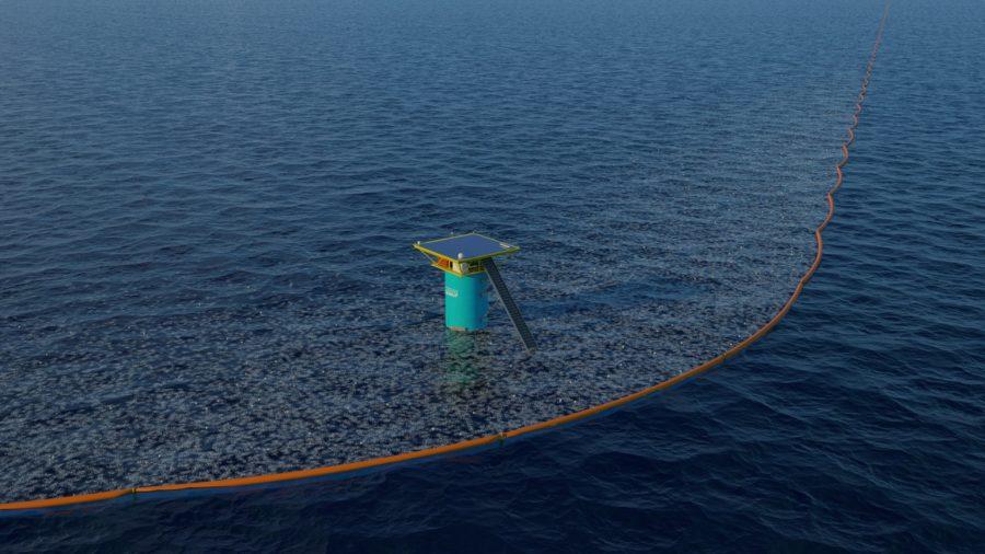 Nettoyeur d'océans Ocean Clean-up im3