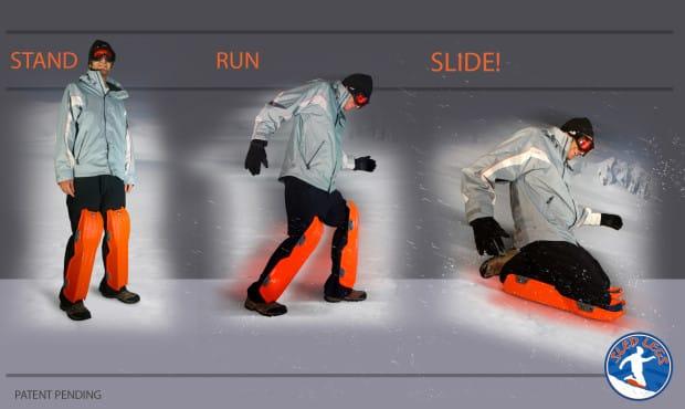 liberté de mouvements de sled legs