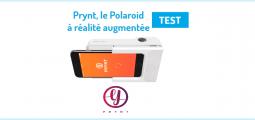 Test Prynt : le premier Polaroïd connecté à réalité augmentée