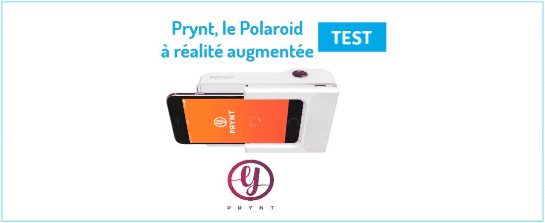 PryntTest Réalité Augmentée À Premier Polaroïd Connecté Du iukOXPZ